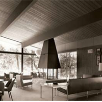 Lounge after 1964 remodel.